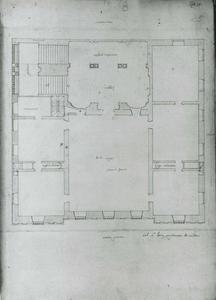 Villa Guistiniani Cambiaso: Plan van de hoofdverdieping