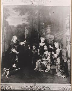 Portret van de kinderen van Jacob van Vredenburch van Adrichem en Catharine van der Goes
