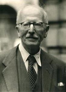 Portret van Ludwig Burchard (1886-1960)