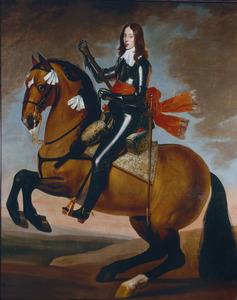 Ruiterportret van Willem II van Oranje-Nassau (1626-1650)