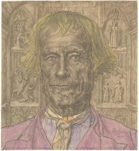 Portret van een kerkvader
