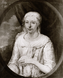 Portret van Cornelia Huysinga (1702- )