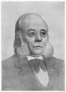 Portret van Hendrik Pierson (1834-1923)