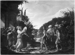 Saul vat vijandschap op tegen David, die als overwinnaar uit de strijd tegen de Filistijnen terugkomt (1 Samuel 18:7-8)