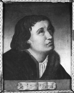 Portret van een onbekende musicus