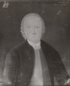 Portret van Reinier Willem van Hemert (1711-1779)