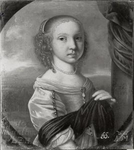 Portret van Augusta Magdalena, prinses van Hessen-Darmstadt (1657-1674)