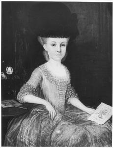 Portret van Jacoba Elisabeth Groeninx van Zoelen (1764-1784)