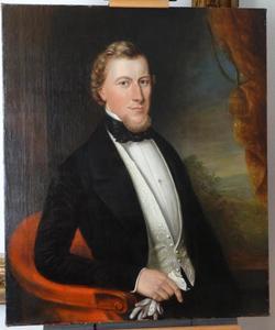 Portret van Dirk Grootes (1824-1863)