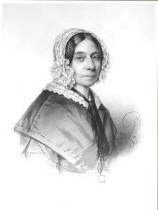 Portret van Henriette Philippina Jacoba van Kretschmar ( 1791-1861)