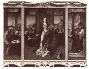Het dispuut van de H. Catharina met filosofen