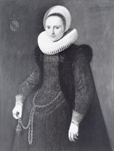 Portret van Maria Buttel ( -1662)