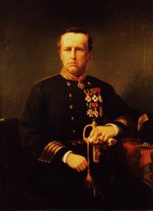 Portret van Bruno Joannes Tideman (1834-1883)