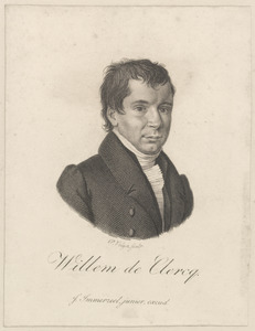 Portret van Willem de Clercq (1795-1844)