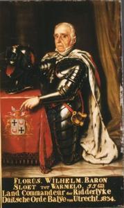 Portret van Floris Wilhelm baron Sloet, heer van Warmelo en Kersbergen