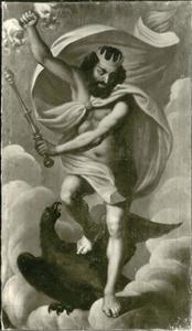Jupiter, de koning der goden, god van de hemel en de donder