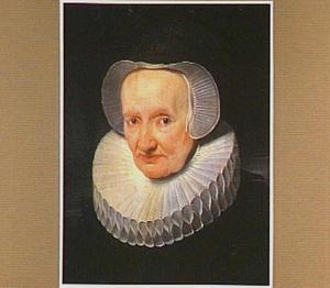 Portret van een oude vrouw, mogelijk Marie Pypelincx (1538-1608), de moeder van Rubens