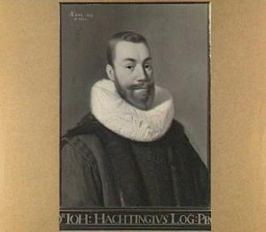 Portret van Johannes Hachting (1594-1630)