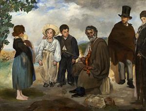 De oude muzikant