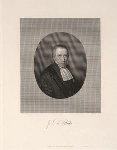 Portret van Johannes Frederik Lodewijk Schröder (1774-1845)