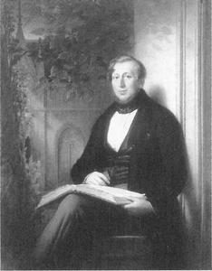 Portret van Pieter Opperdoes Alewijn (1800-1875)