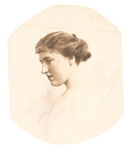Portret van Aleida Margareta Berg (1891-1981)