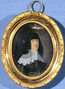 Portret van Frederik III (1609-1670) van Denemarken