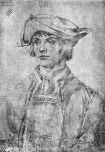 Portret van Lucas van Leyden (1494-1533)