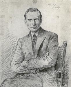 Portret van Frits Lugt (1884-1970)