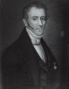 Portret van Hendrik Jan Oosting (1787-1879)