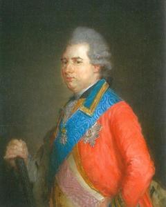 Portret van Karl Landgraf von Hessen-Kassel (1744-1836)