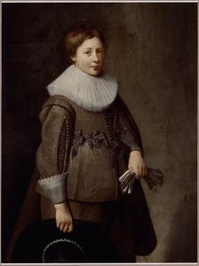 Portret van een 11-jarige jongen