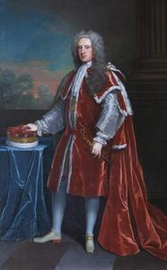 Portret van Thomas Coke, 1st Earl of Leicester (1697-1759)