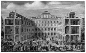 Stockholm, Raadhuis (later Stadtmuseum) in aanbouw