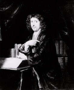 Portret van Gualterus Boudaen (1637-1684)