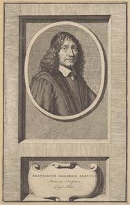 Portret van François de le Boe Sylvius (1614-1672)