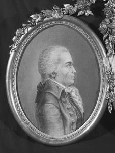 Portret van een man, mogelijk Arnoldus Joannes van Brienen (1735 -1804)