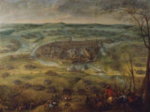 Het beleg van de in Neuburg gelegerde Zweedse troepen door Ottavio Piccolomini en aartshertog Leopold Wilhelm, 18-21 maart 1641