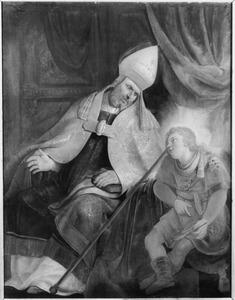 De H. Augustinus,  een der Latijnse kerkvaders