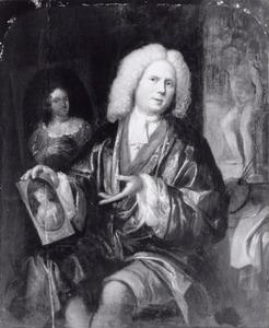 Portret van mogelijk Pieter Veen (1667-1736)