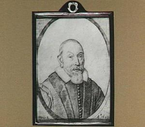 Portret van Gillis Burs (Aegidius Bursius, 1564-1634), predikant te Middelburg