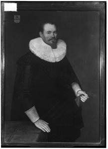 Portret van Jan Johansz. van Haeften (1588-1667)
