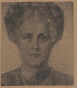 Portret van Annie Josephine Hall (1860-1929)