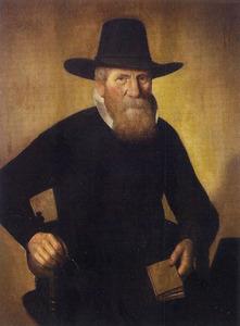 Portret van een 80-jarige man