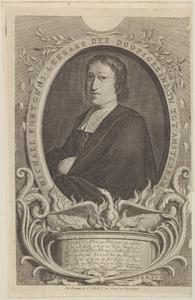 Portret van Michael Fortgens (1663-1695)