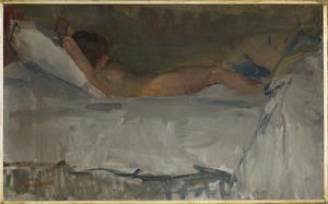 Naakt op de divan, Willy Gordeau (1893-1938)