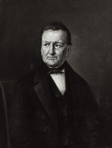 Portret van Johan Heinrich August Roder (1790-1868)