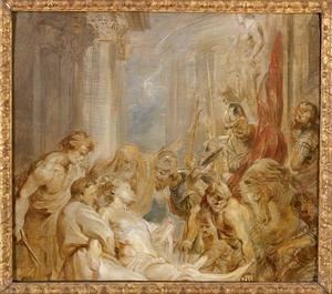 De marteldood van de heilige Adrianus