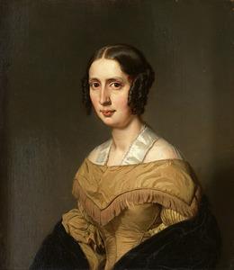 Portret van Woltera Elisabeth Koch (1810-1841)