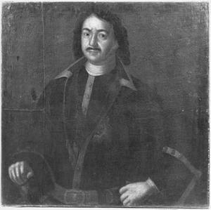 Portret van de Russische Tsaar Peter de Grote (1672-1725)